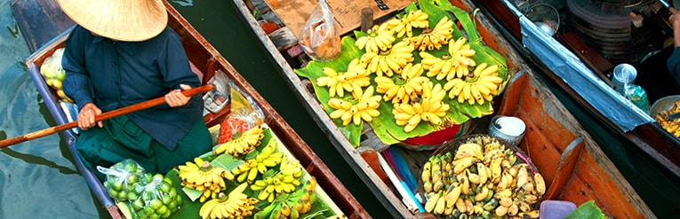 Floating Markets, Bangkok